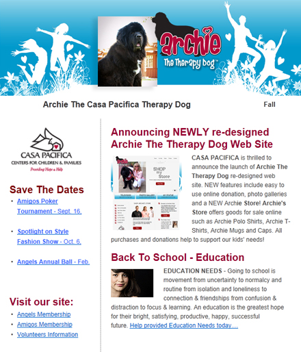 Archie E-Newsletter Fall